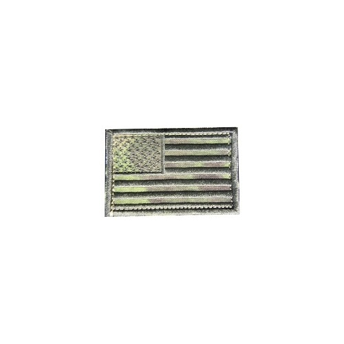 Subdued US Flag Patch - Multicam